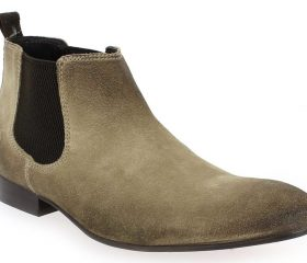 Base London Boots Broker taupe