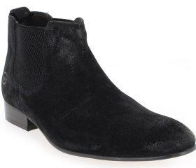 Base London Boots Broker noir