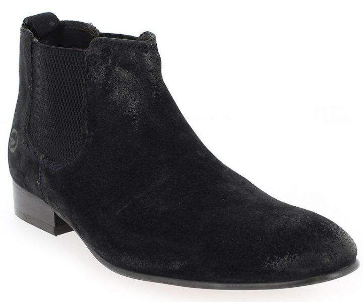 Base London Boots Broker noir