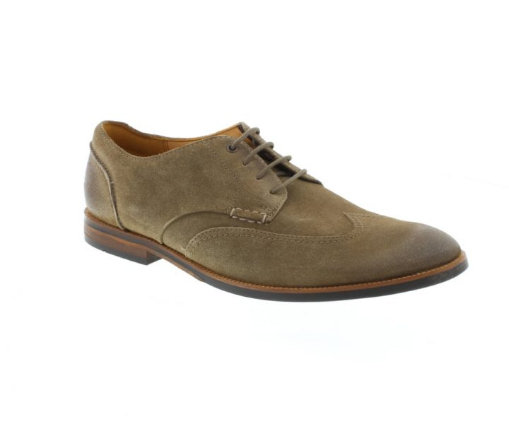 Clarks Chaussure Broyd Wing Olive