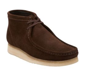 Clarks Boot Brown Suede