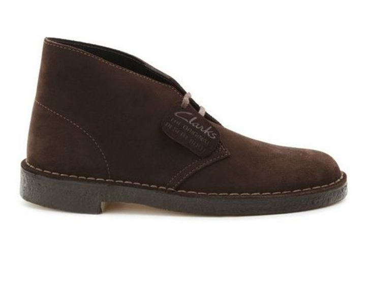 Clarks Desert Boot Brown Suede