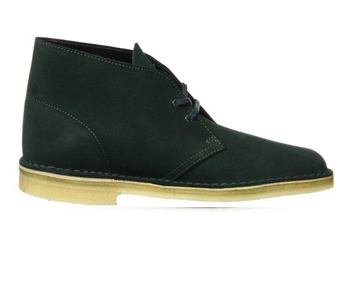 Clarks Desert Boot Green Suede