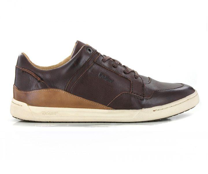 kickers Chaussure Crokan Marron