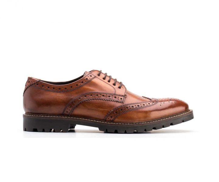 Base London chaussure Tan