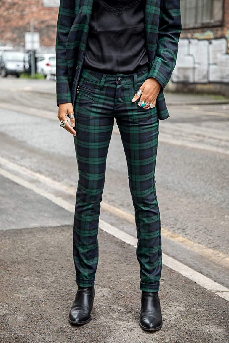 Pantalon toile Freeman Tartan
