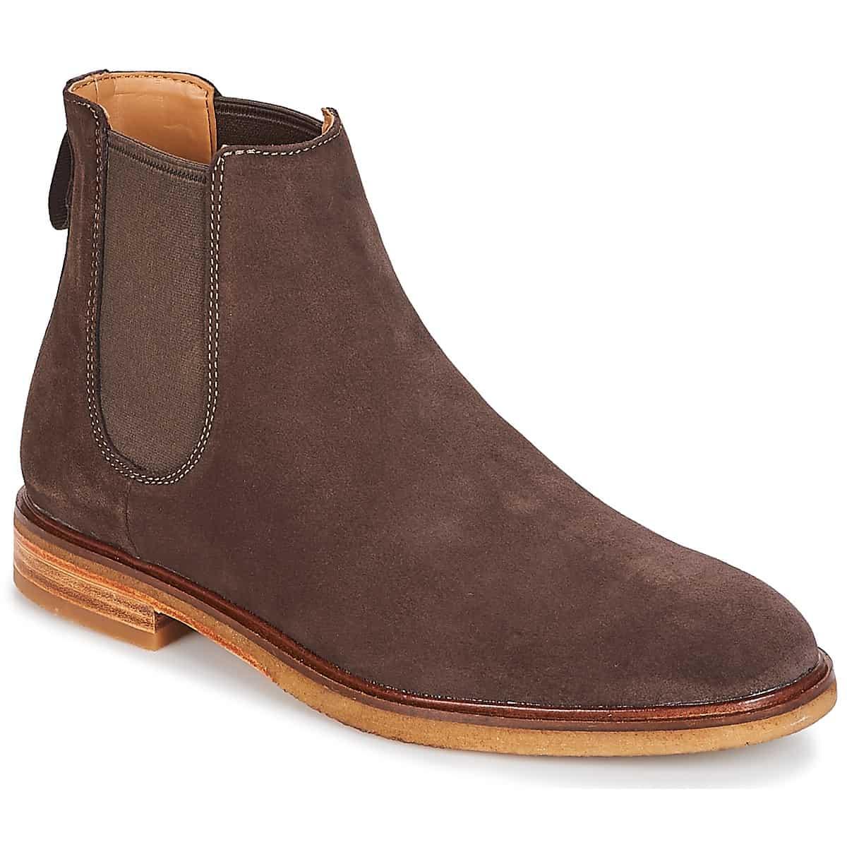 Boots Clarks Gobi Marron